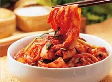 泡菜富含維生素和乳酸菌