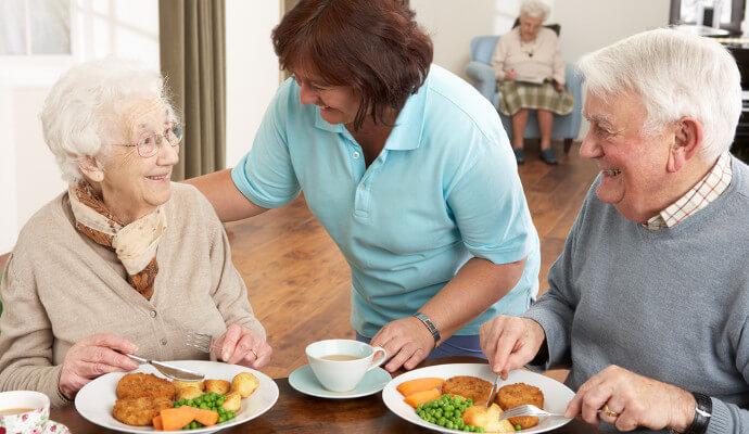 老人營養問題改善